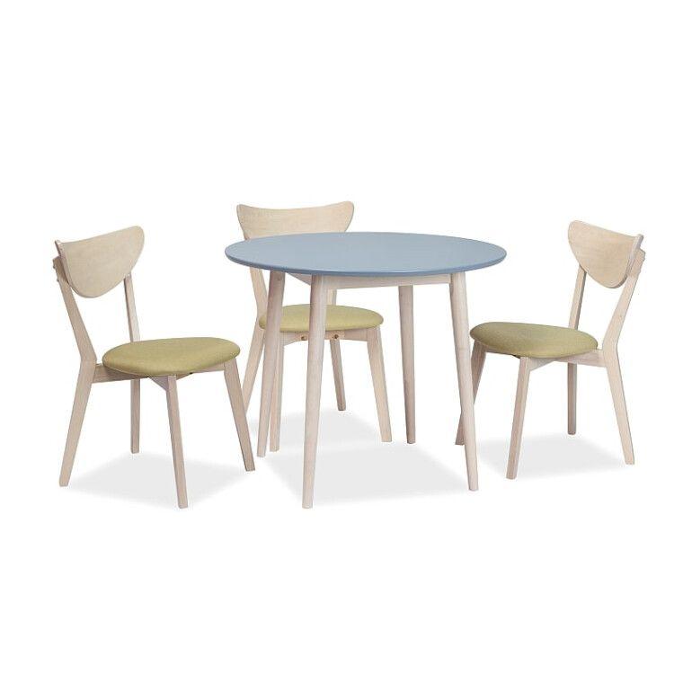 Стол обеденный Signal Larson | 90х90 / Серый / дуб - 2
