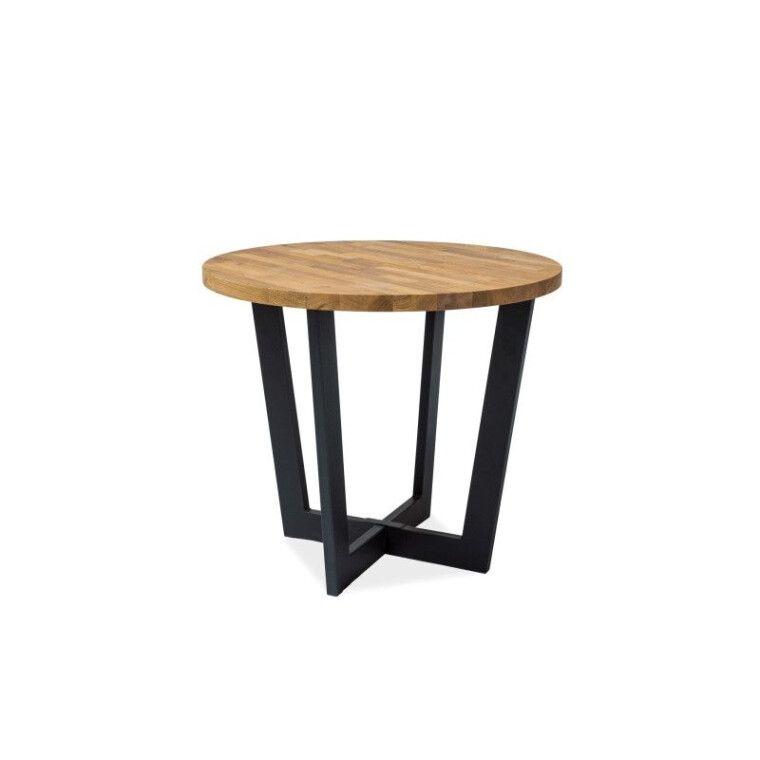 Стол обеденный Signal Cono | Дуб / черный