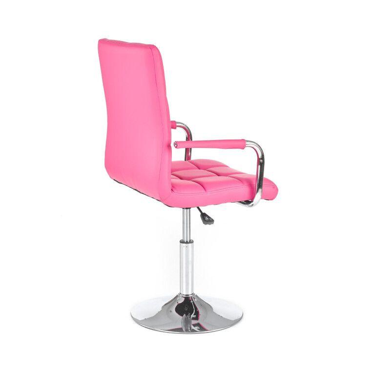 Кресло поворотное Halmar Gonzo | Розовый - 4