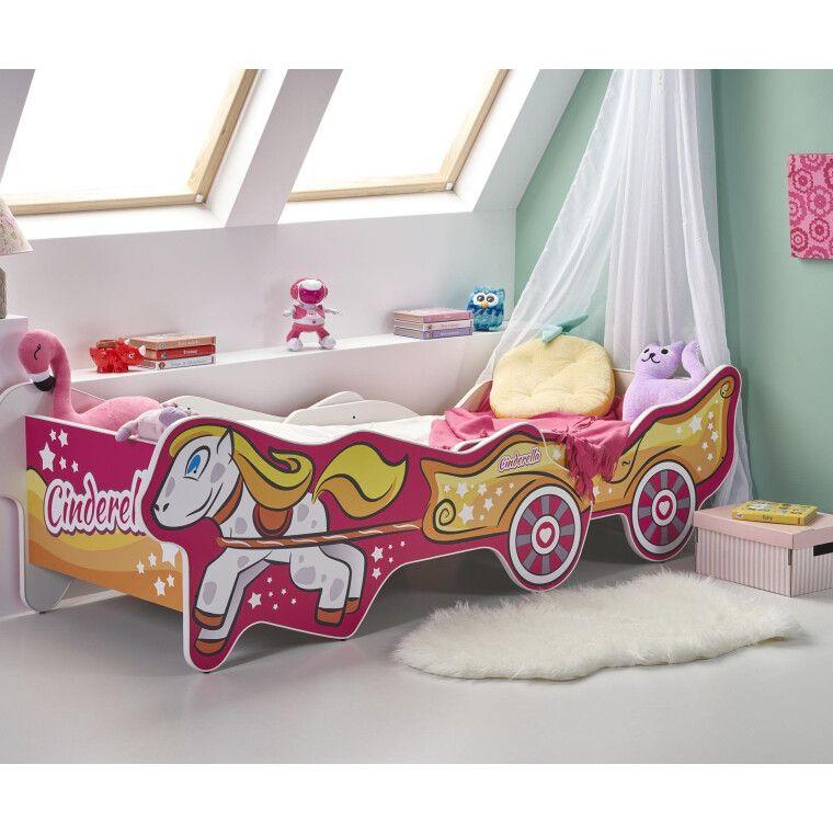 Кровать детская Halmar Cinderella   Золушка