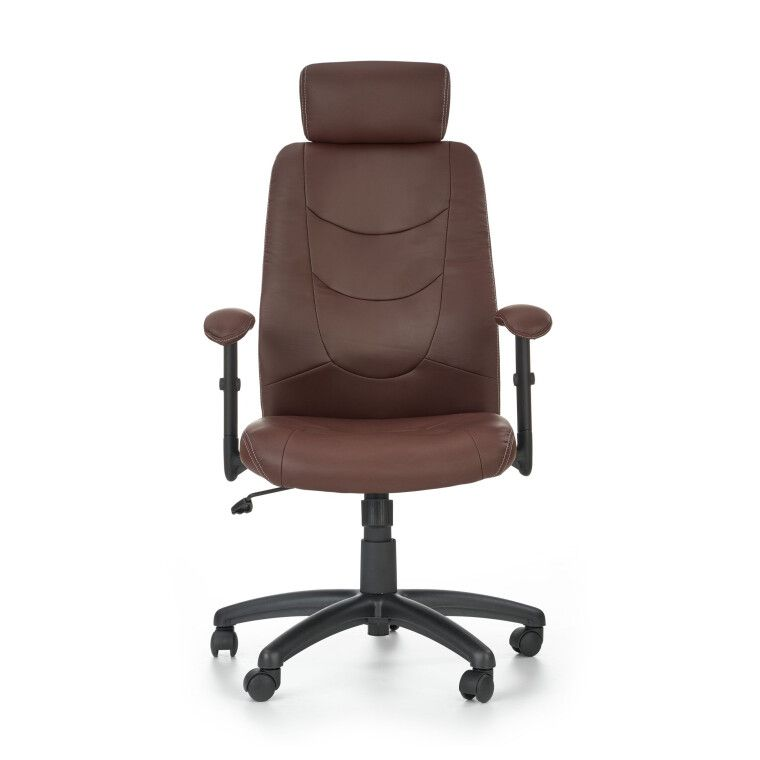 Кресло поворотное Halmar Stilo | Коричневый - 7