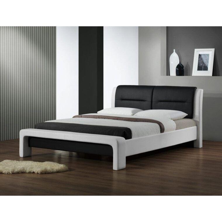 Кровать Halmar Cassandra | 120х200 / Черный / белый