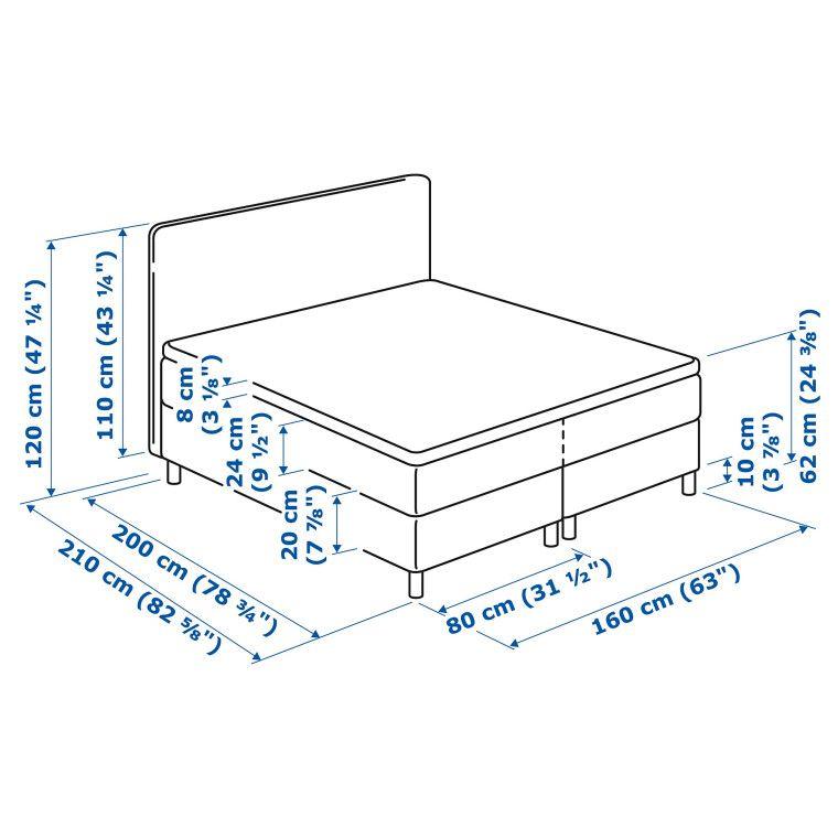 Кровать DUNVIK - 11