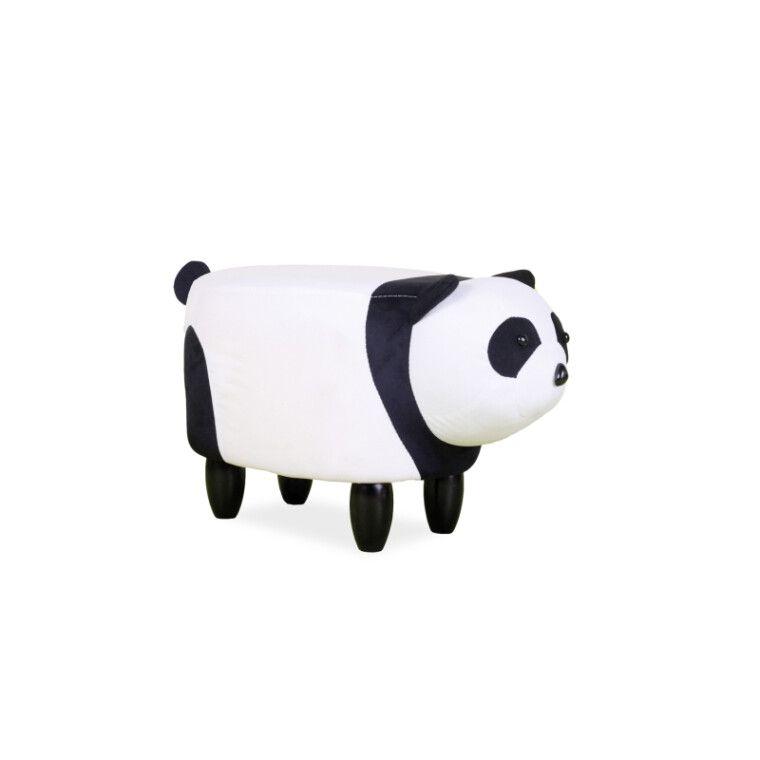 Пуф Signal Panda Paulinka | Белый / черный