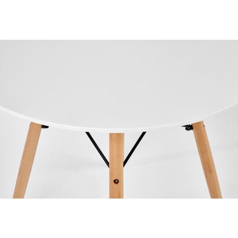 Стол обеденный Halmar Prometheus круглый | Белый - 5