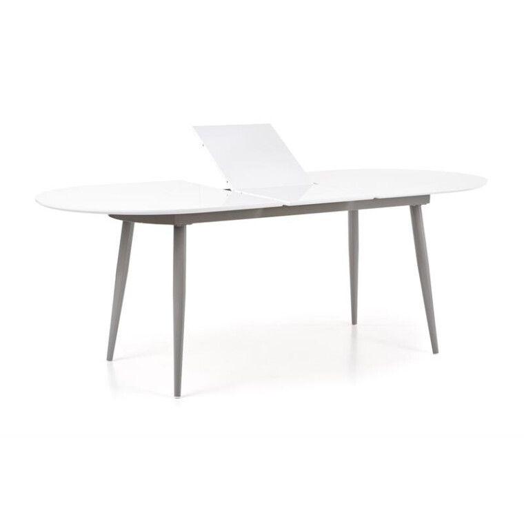 Стол раскладной Halmar Crispin   Белый / серый - 12