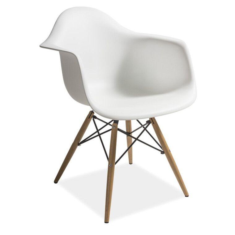 Кресло Signal Mondi   Белый / Бук