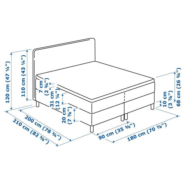 Кровать DUNVIK - 13