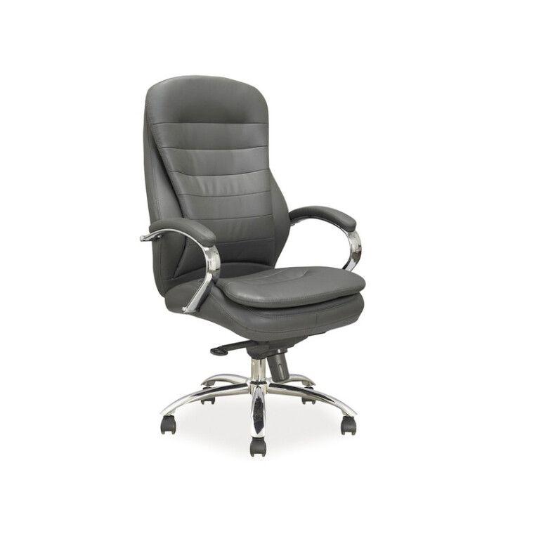 Крісло поворотне Signal Q-154 | Сірий