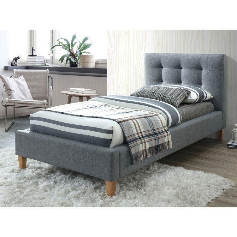 Кровать Signal Texas | 90х200 / Серый / дуб