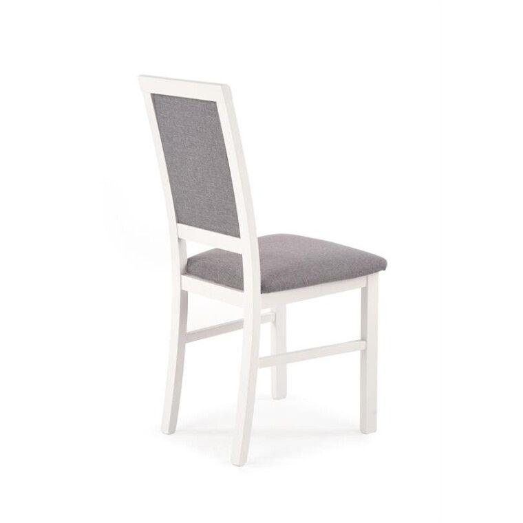 Стул кухонный Halmar Sylwek 1 Bis | Белый / Серый (Inari 91) - 3