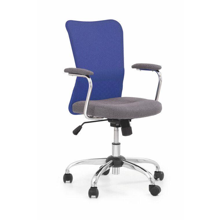 Кресло поворотное Halmar Andy | Фиолетовый