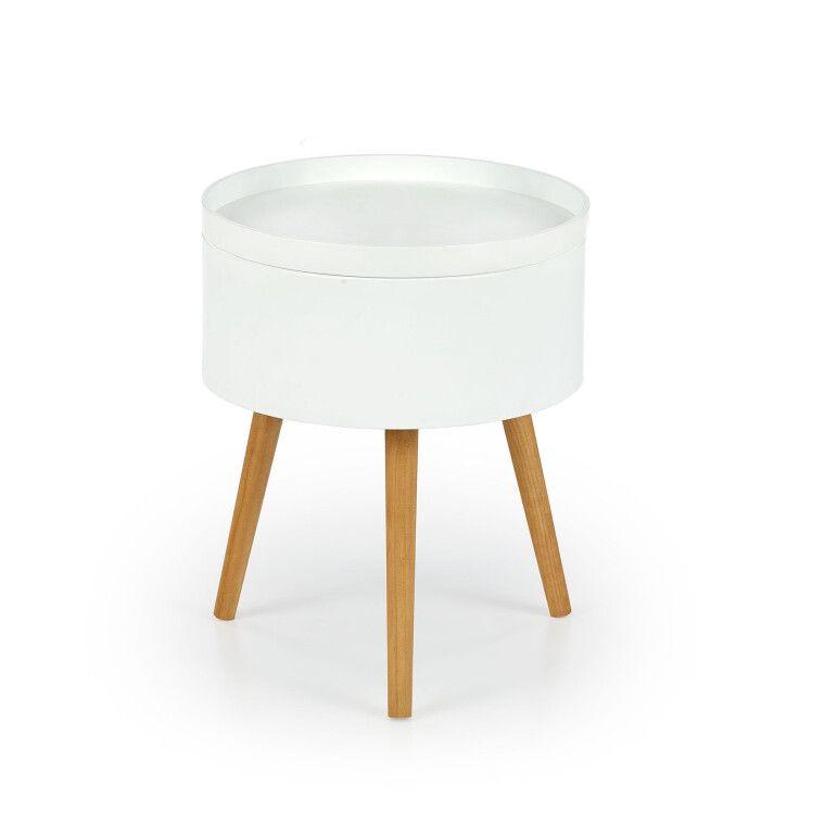 Стол журнальный Halmar Supra | Белый - 2