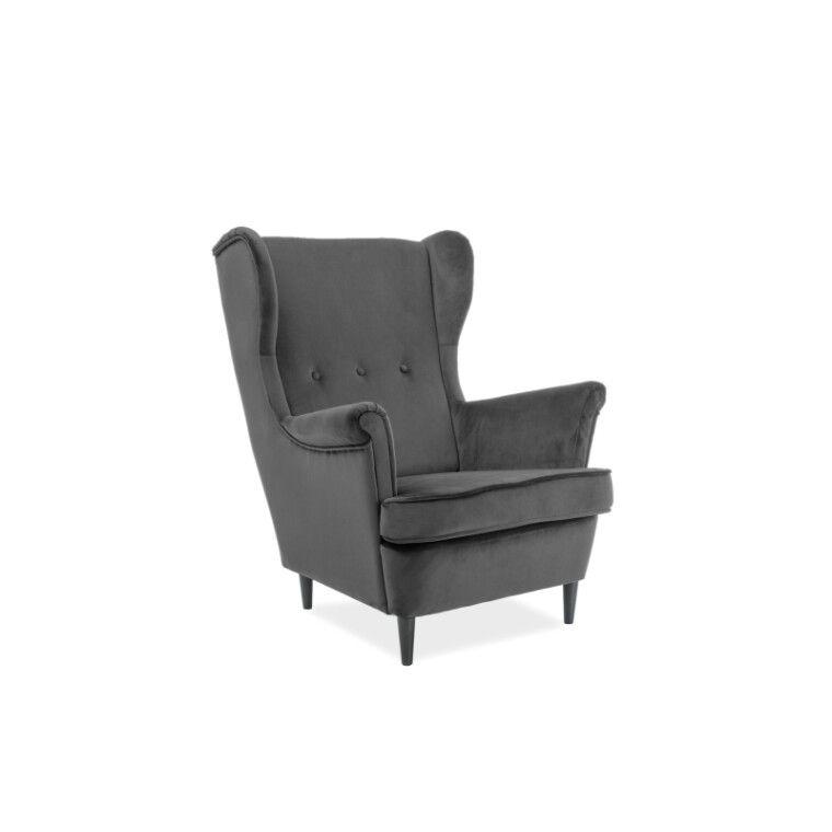 Кресло Signal Lord | Темно-серый (Orinoco 1618)