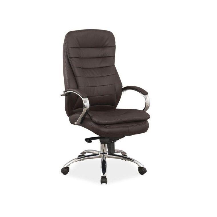 Крісло поворотне Signal Q-154 | Коричневий