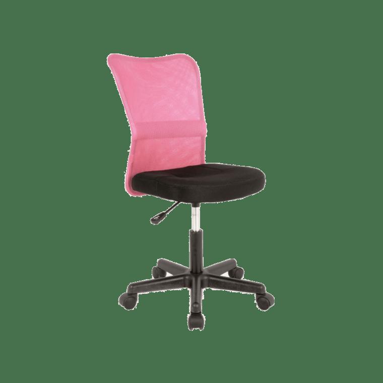 Кресло поворотное Signal Q-121 | Черный / Розовый