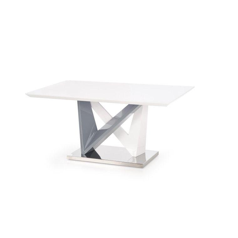 Стол обеденный Halmar Cortez | Белый / серый