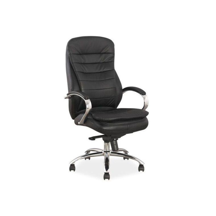 Кресло поворотное Signal Q-154 | Кожа