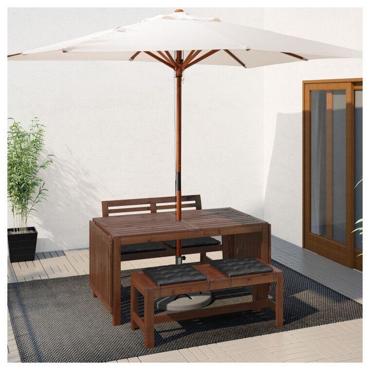Комплект мебели садовой ÄPPLARÖ - 4