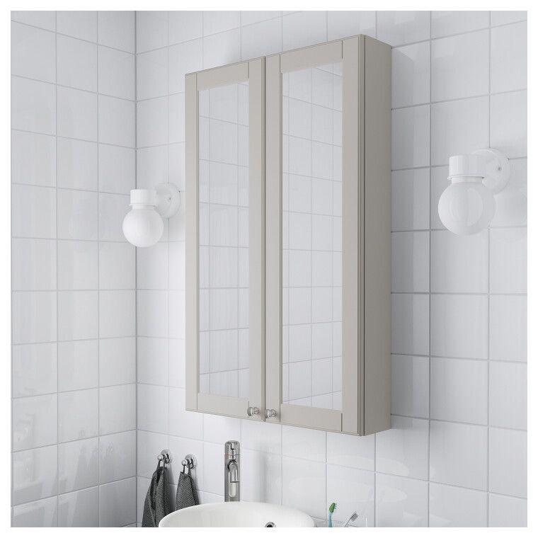 Шкаф с зеркалом GODMORGON - 4