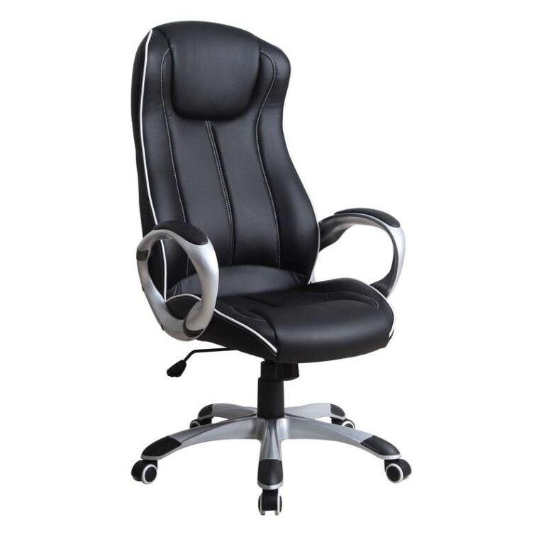 Кресло поворотное Halmar Taurus   Черный