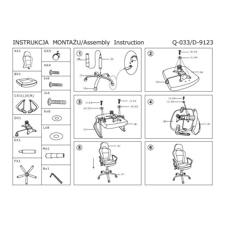 Кресло поворотное Signal Q-033 | Серый / черный - 2
