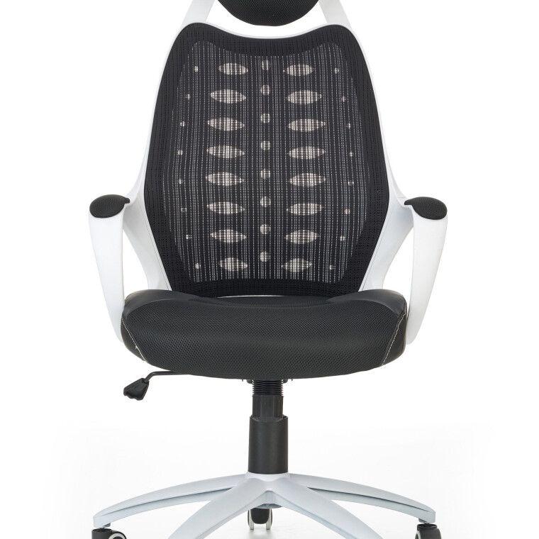 Кресло поворотное Halmar Striker 2 | Черный / белый - 9