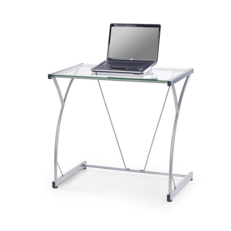 Стол компьютерный Halmar B-20 | Прозрачный