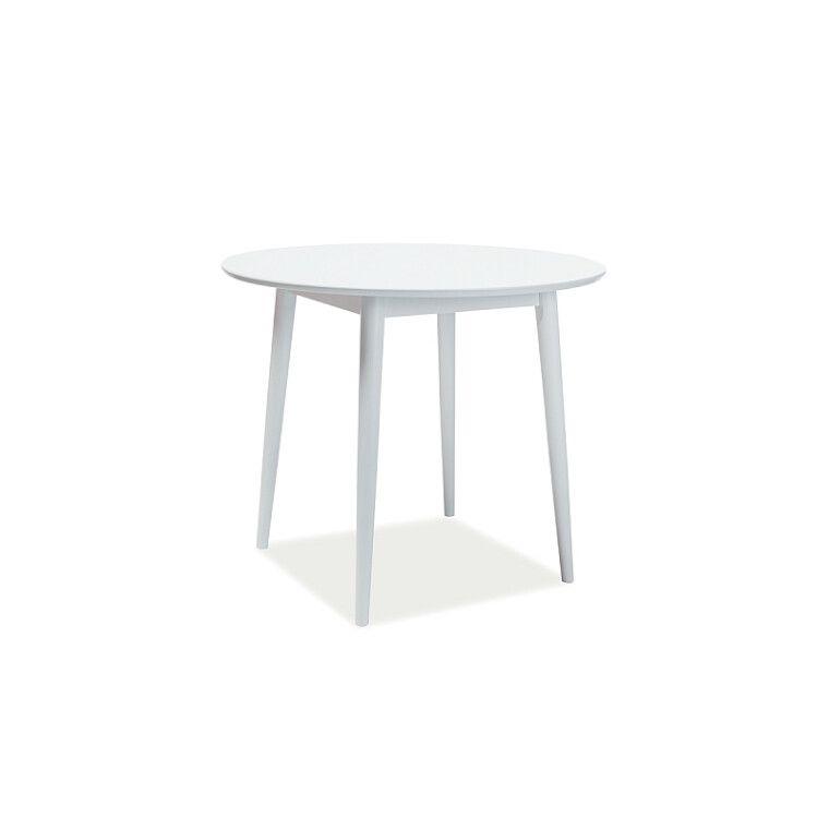 Стол обеденный Signal Larson | 90х90 / Белый