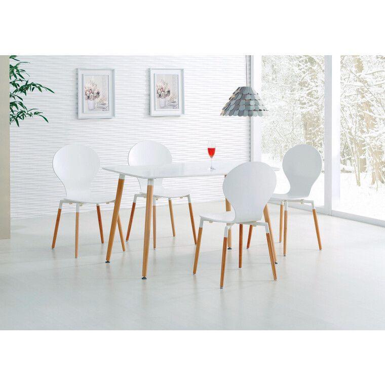 Стол обеденный Halmar Socrates прямоугольный | Белый