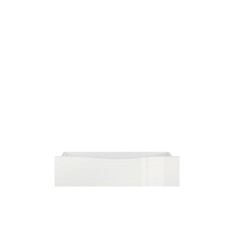Ящик для кровати BRW Pori   Белый глянец
