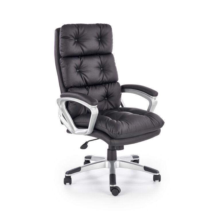 Кресло поворотное Halmar Stratos | Черный