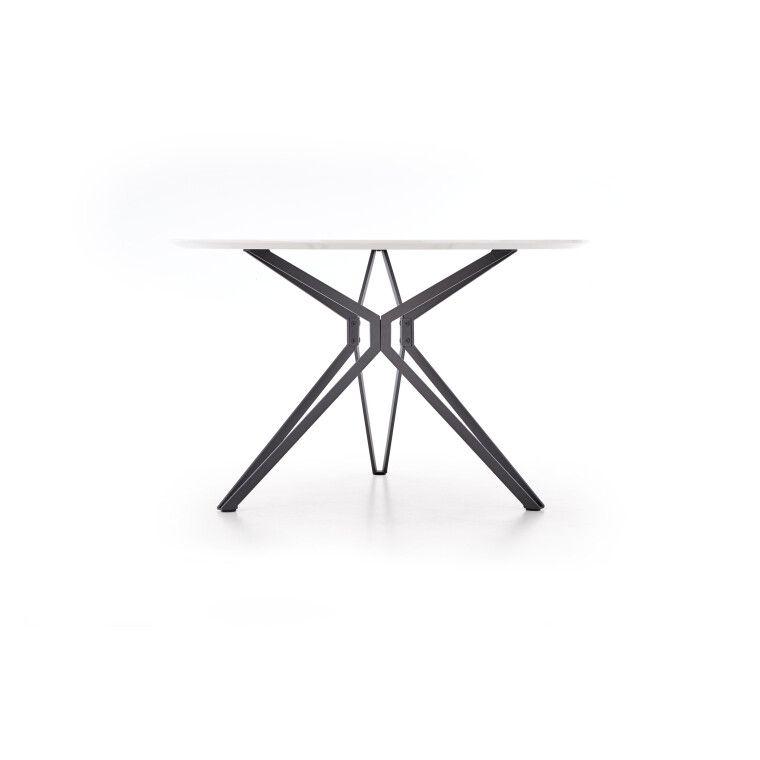 Стол обеденный Halmar Pixel | Белый / Черный - 4