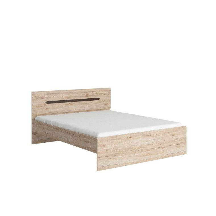 Кровать BRW Elpasso | 160x200 / Дуб сан-ремо светлый - 2