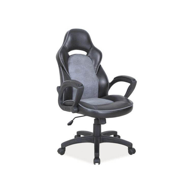 Кресло поворотное Signal Q-115 | Серый / Черный