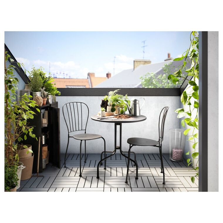 Комплект мебели садовой LÄCKÖ - 9