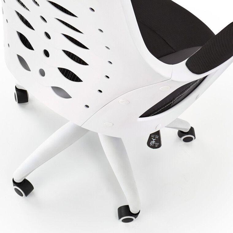 Кресло поворотное Halmar Striker 2 | Черный / белый - 6