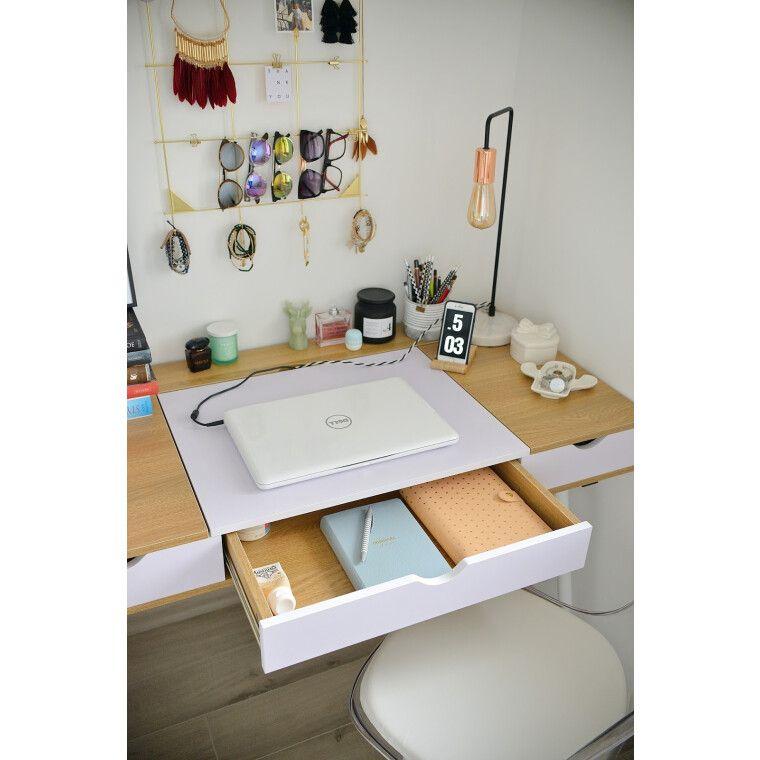 Стол письменный Signal B-151 | Дуб / белый - 3