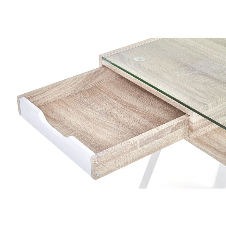 Стол письменный Halmar B-33 | Дуб Сонома / Белый - 7
