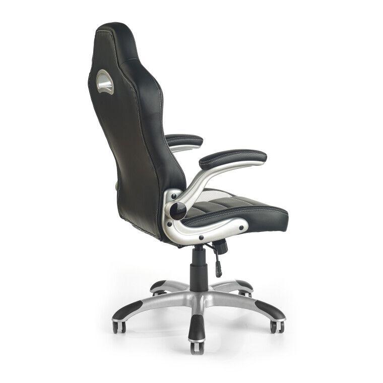 Кресло поворотное Halmar Lotus | Черный / серый - 4