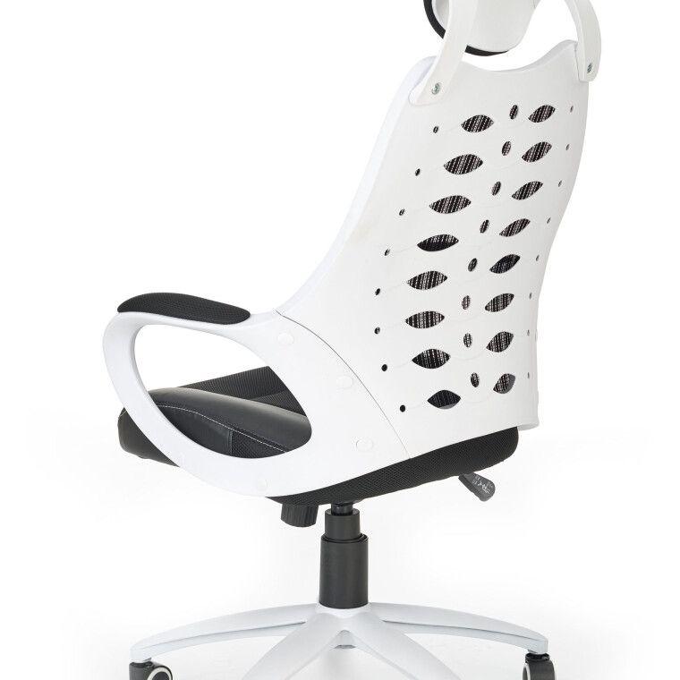 Кресло поворотное Halmar Striker 2 | Черный / белый - 5