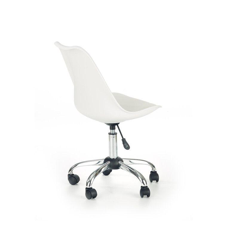 Кресло поворотное Halmar Coco   Белый - 4