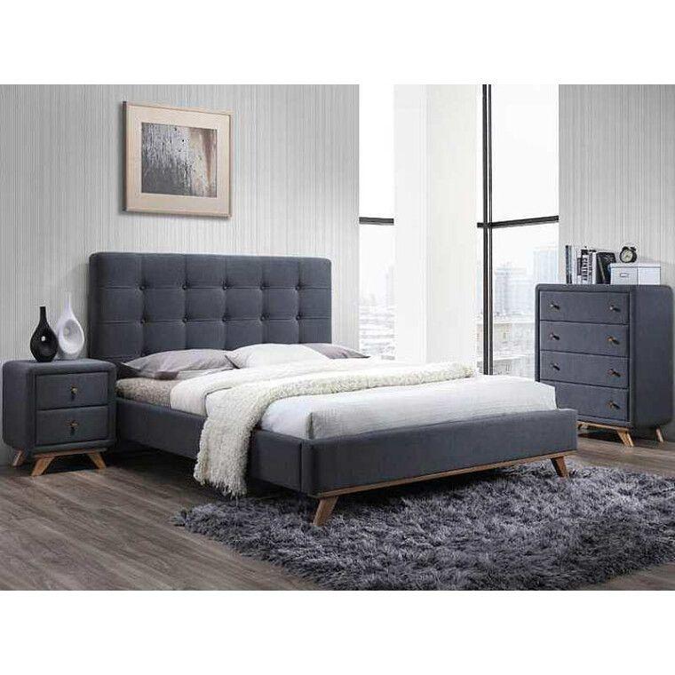 Кровать Signal Melissa   160х200 / Серый