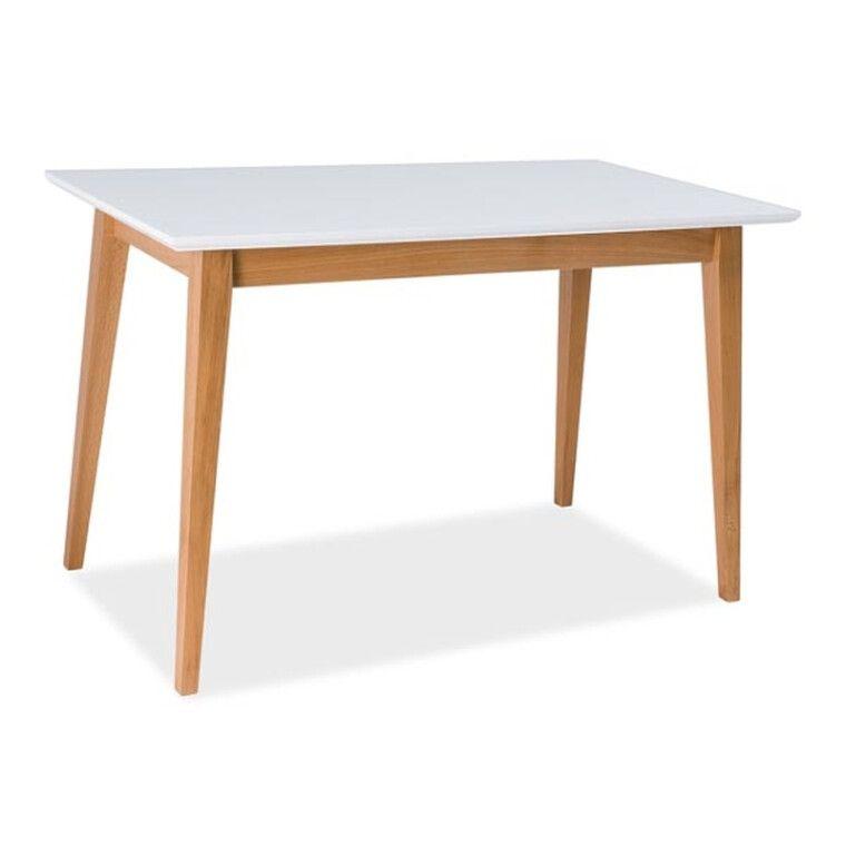 Стол обеденный Signal Braga   Белый / бук