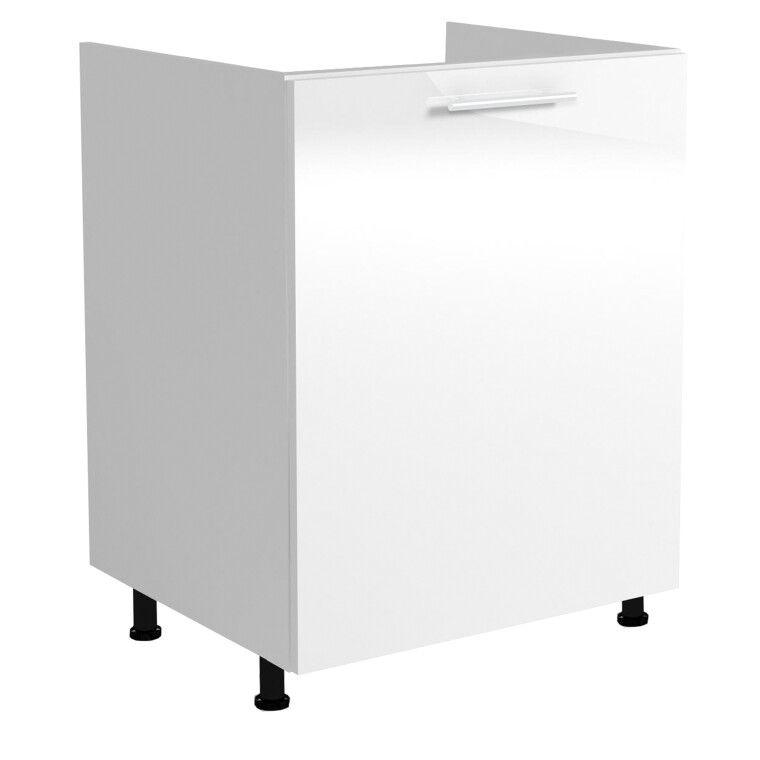 Шкаф под мойку Halmar Vento DK-60/82 | Белый фото