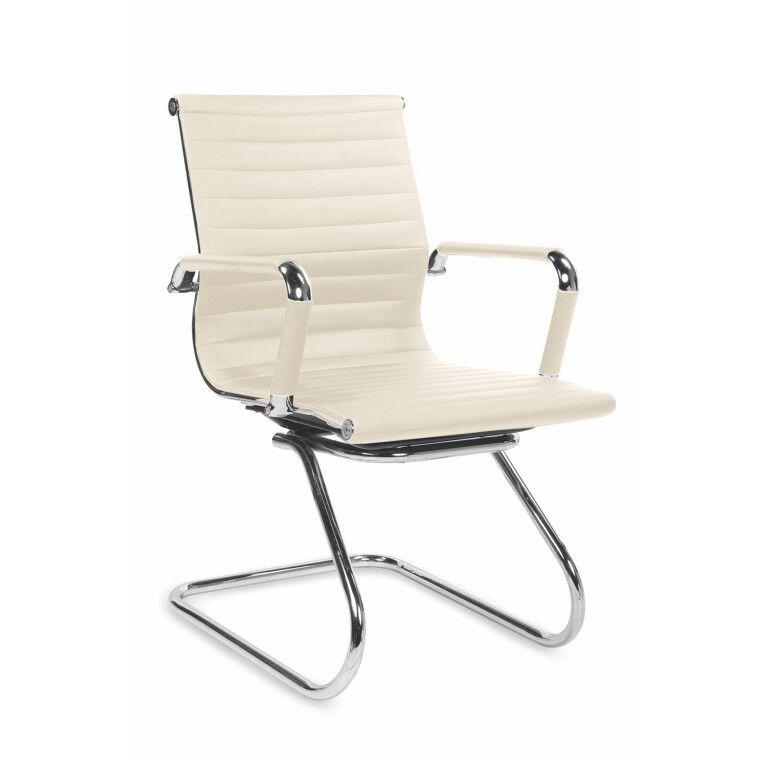 Кресло офисное Halmar Prestige Skid | Кремовый