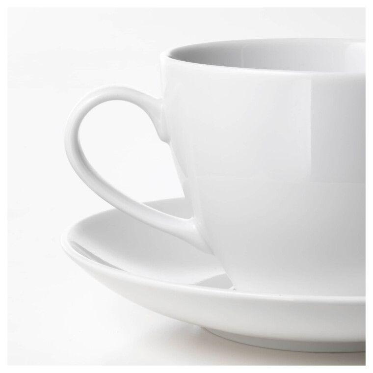 Чашка чайная с блюдцем VÄRDERA - 2