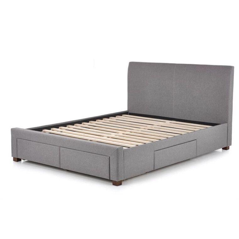 Кровать Halmar Modena   140х200 / Серый - 14