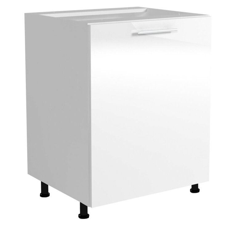 Нижний шкаф модульный Halmar Vento D-60/82 | Белый фото