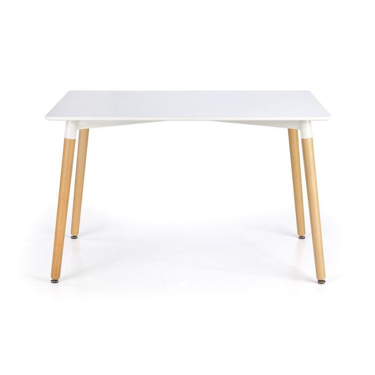 Стол обеденный Halmar Socrates прямоугольный | Белый - 3